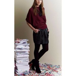 New Anthropologie Cobblestone Jacquard Skirt Sz 10